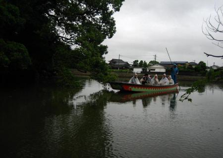 雨の清水と川下り 061