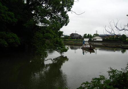 雨の清水と川下り 059