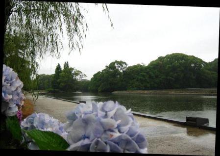 雨の清水と川下り 048