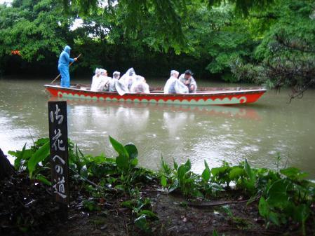 雨の清水と川下り 075