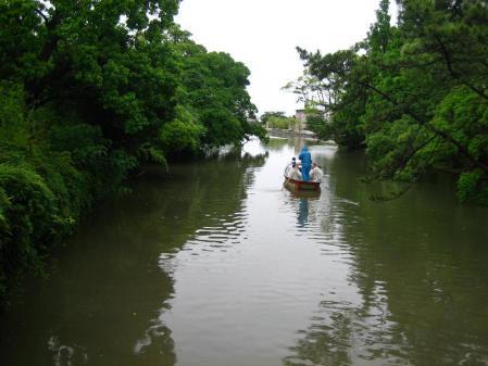 雨の清水と川下り 071