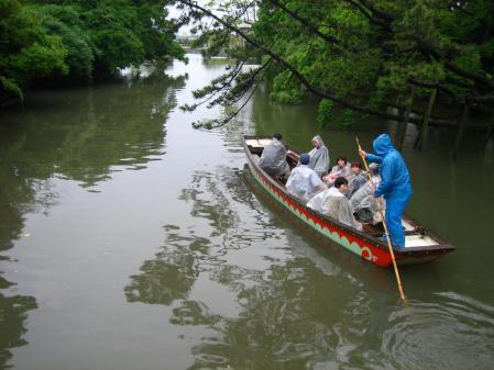 雨の清水と川下り 069