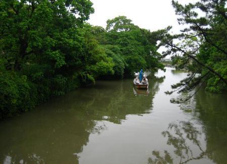 雨の清水と川下り 063
