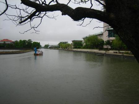 雨の清水と川下り 079