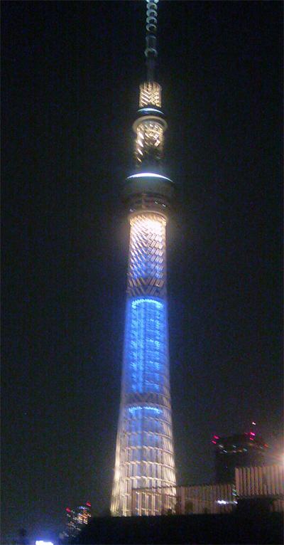 スカイツリー(夜)