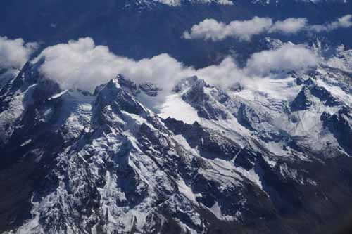 アンデスの山