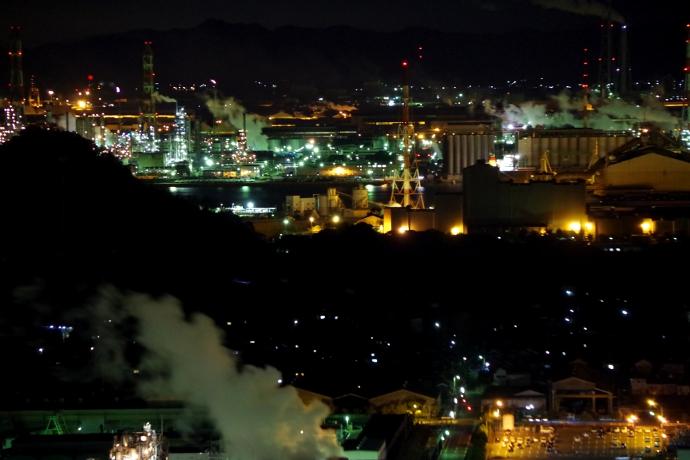 20121218工場夜景@水島2