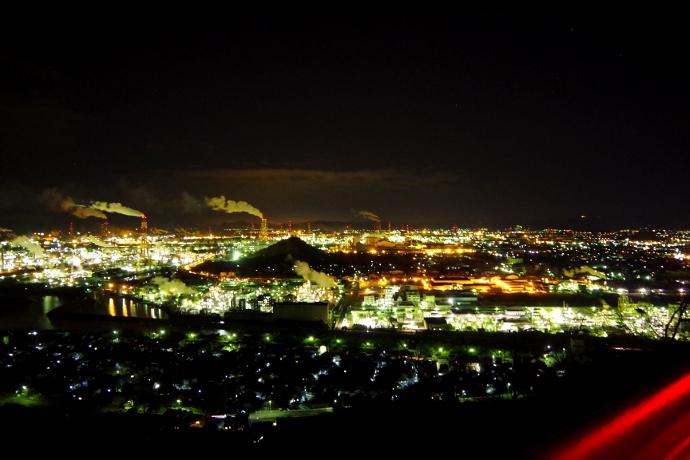 20121218工場夜景@水島3