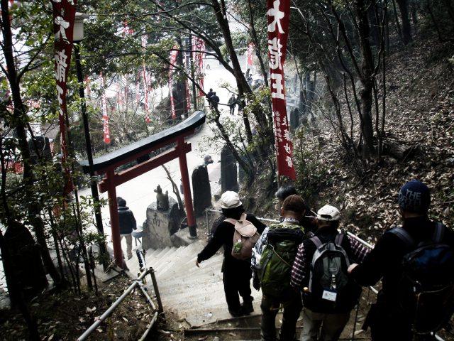 20130120最上稲荷奥の院龍王山9
