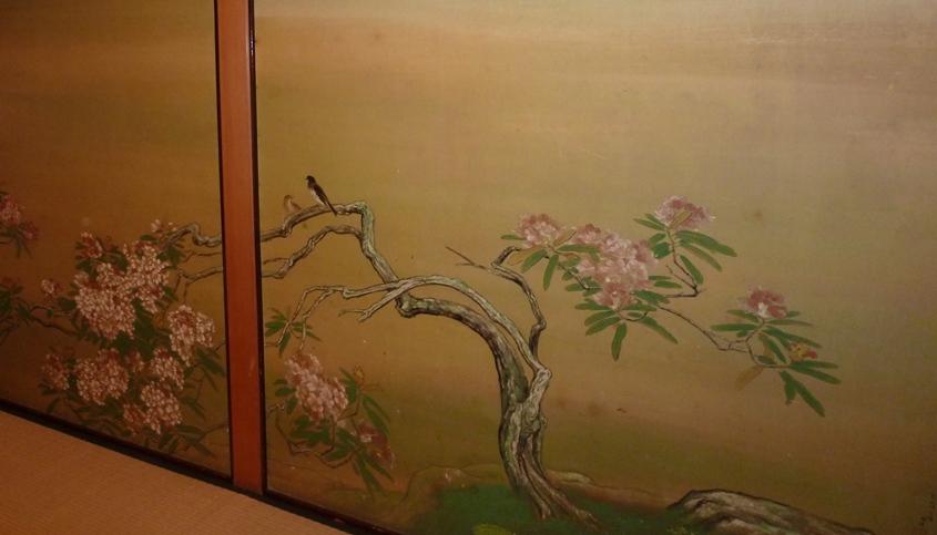 持明院襖絵(2)