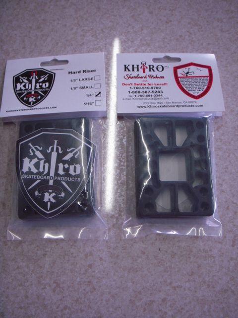 4 Khiro Riser Pads 1/4(2枚セット)418868_riser00020_l