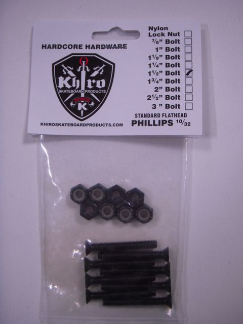 Khiro Mounting Bolt  Nut Set 1-12inch 418868_hardware00022_l