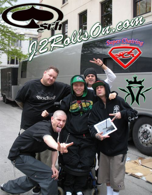 J2 with KMK members and Big B Lou-Dog-D-Loc-Dirt-Ball-Big-B-J2 500x640