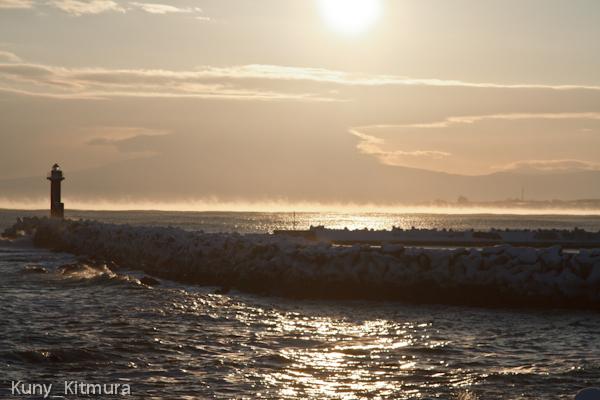 海に伸びるケアラシ