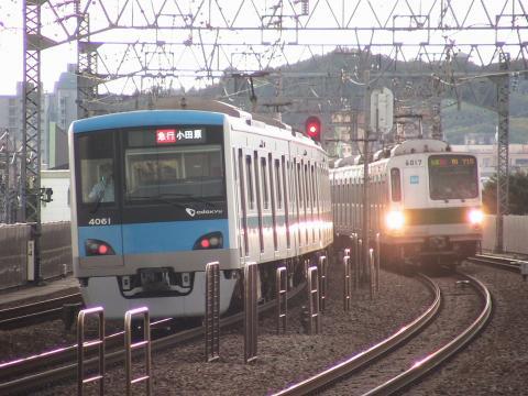 狛江にて往来