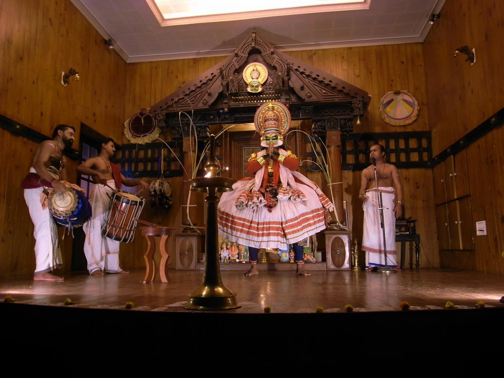 フォートコーチン 舞踏劇カタカリ