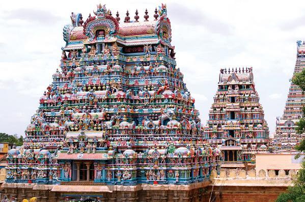マドライ ミナクシ寺院