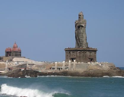 カーニャクマリ ティルヴァッルヴァル像