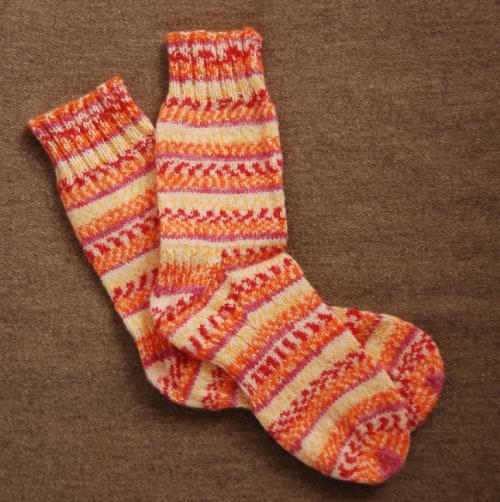 毛糸靴下1