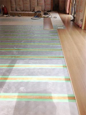 冬に向けて床暖房工事 |京都・滋賀リフォームするならフジ・ホーム