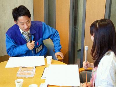 ラジオ収録 |京都・滋賀リフォームするならフジ・ホーム