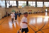SONバスケ練習風景②