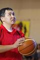 SONバスケ練習風景