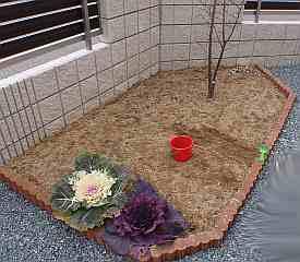 素敵な花壇になるようにプラン考えます