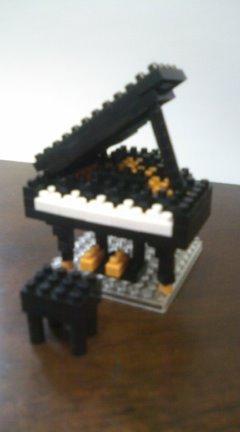 レゴブロックピアノ