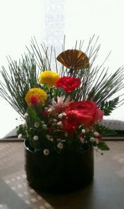 お正月のお花♪