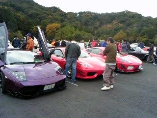 スーパーカーオフ会?