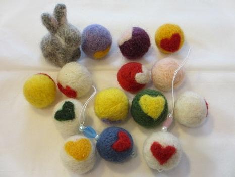 2013.01羊毛ボール