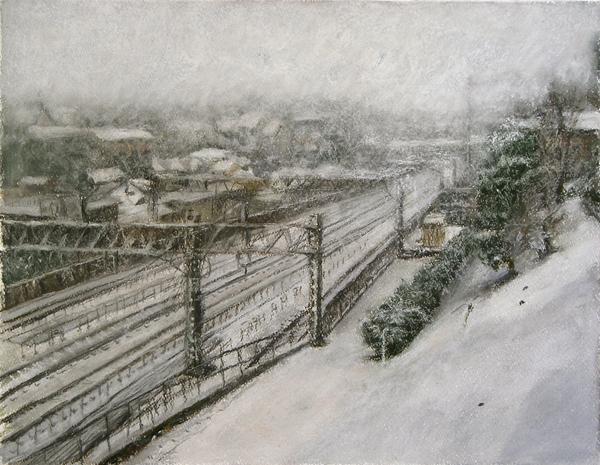 雪の東急線