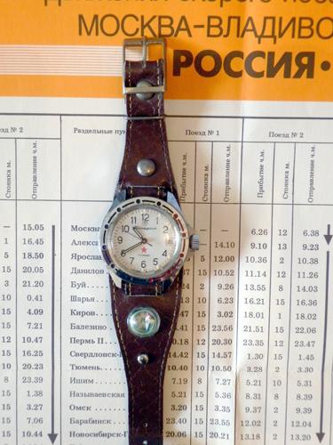 ソ連軍用時計