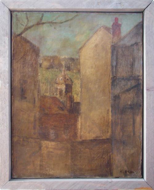 オンフルールの旧市街