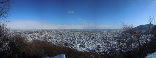 円山のパノラマ画像