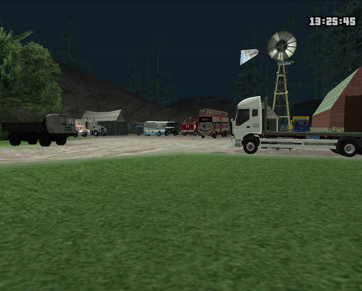 GTASA 夏のトラック・バス祭り 3