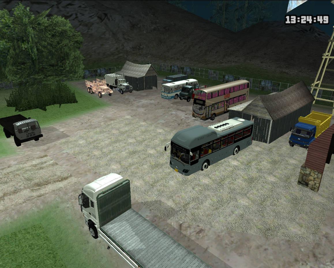 GTASA 夏のトラック・バス祭り 1