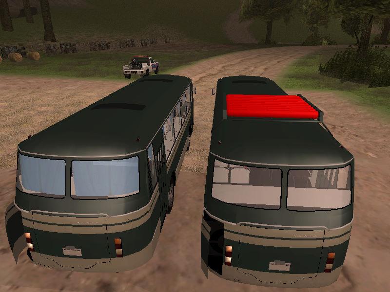 GTASA 夏のトラック・バス祭り 19