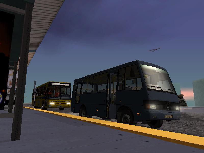 バスターミナル 55