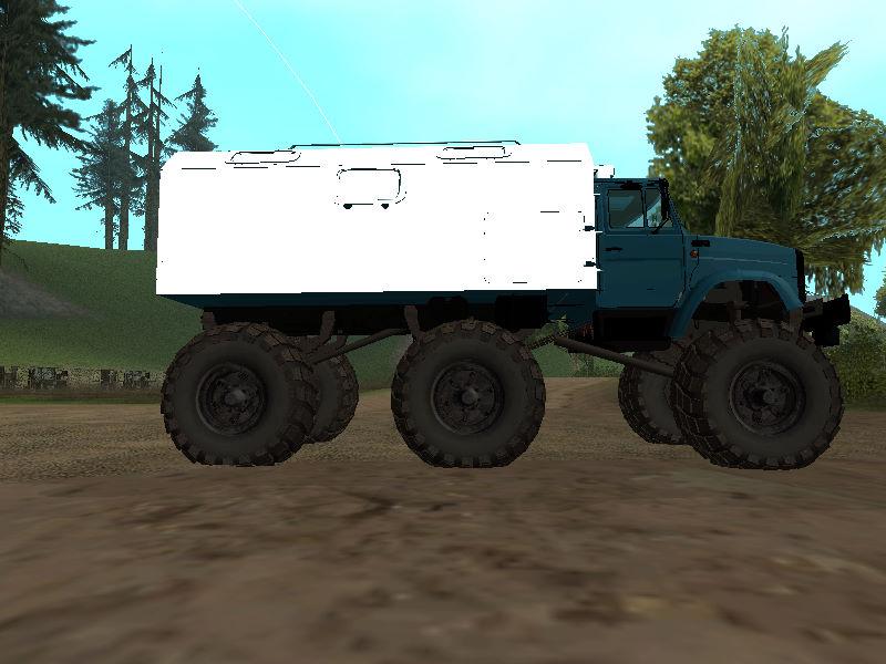 GTASA ロシアのトラック「ジル」4