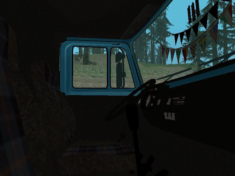 GTASA ロシアのトラック「ジル」5