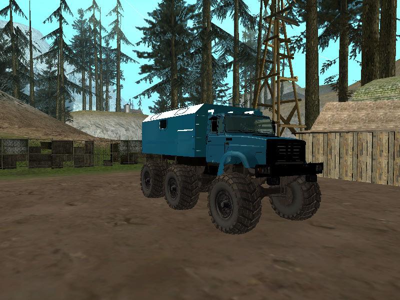 GTASA ロシアのトラック「ジル」1