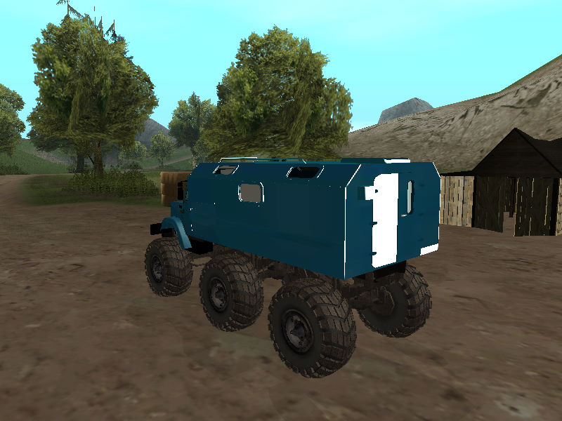 GTASA ロシアのトラック「ジル」2