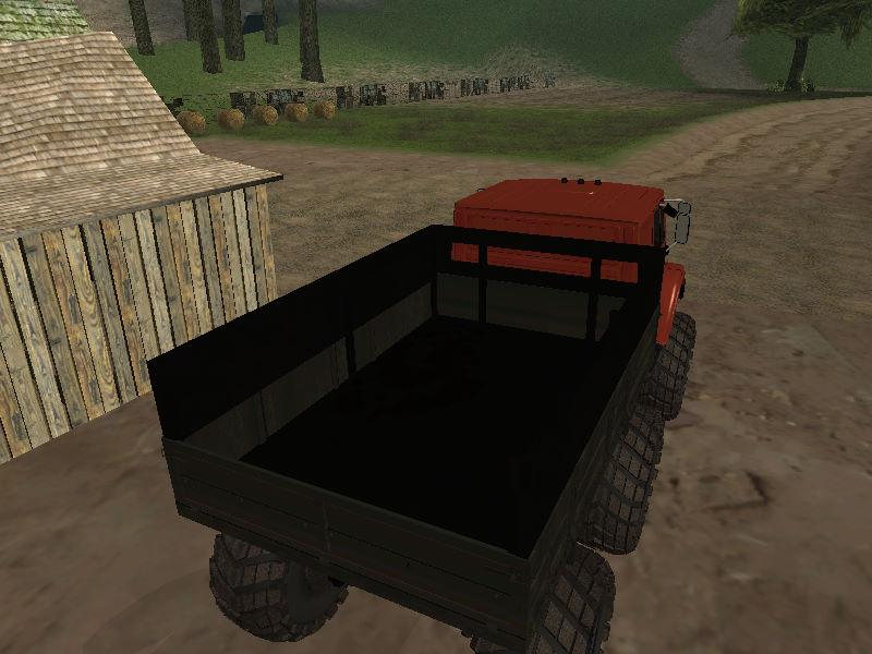 GTASA ロシアのトラック「ジル」11