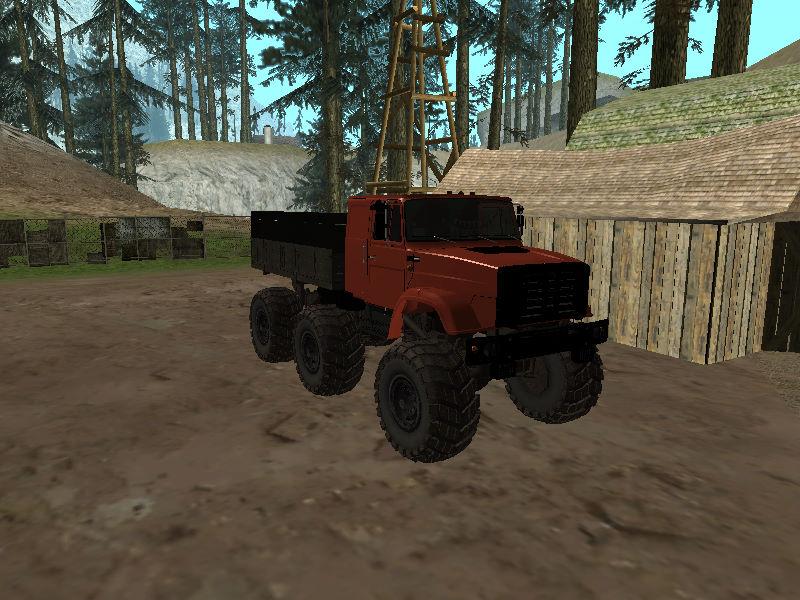 GTASA ロシアのトラック「ジル」9