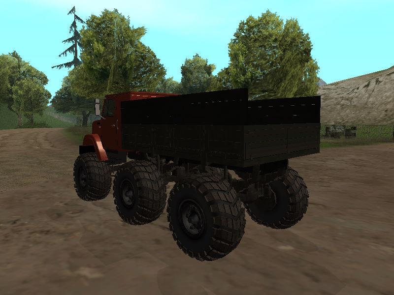 GTASA ロシアのトラック「ジル」10