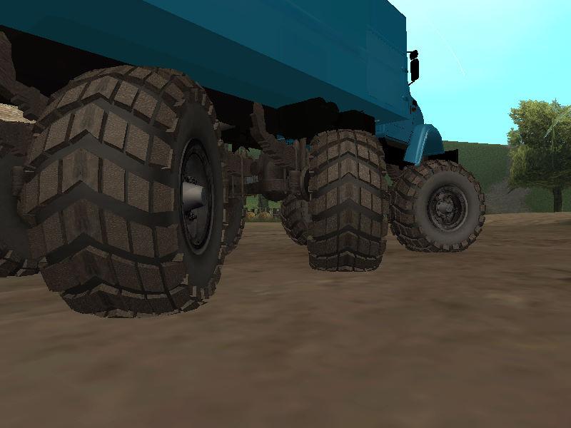 GTASA ロシアのトラック「ジル」8