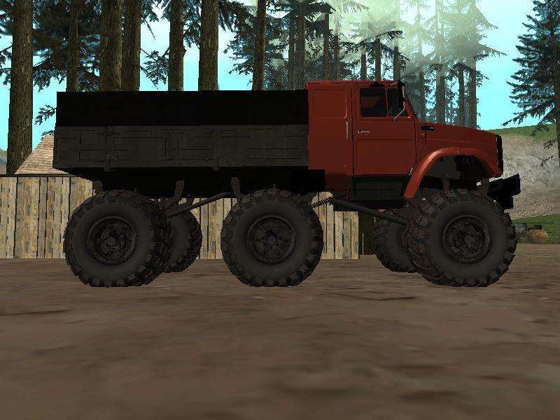 GTASA ロシアのトラック「ジル」15