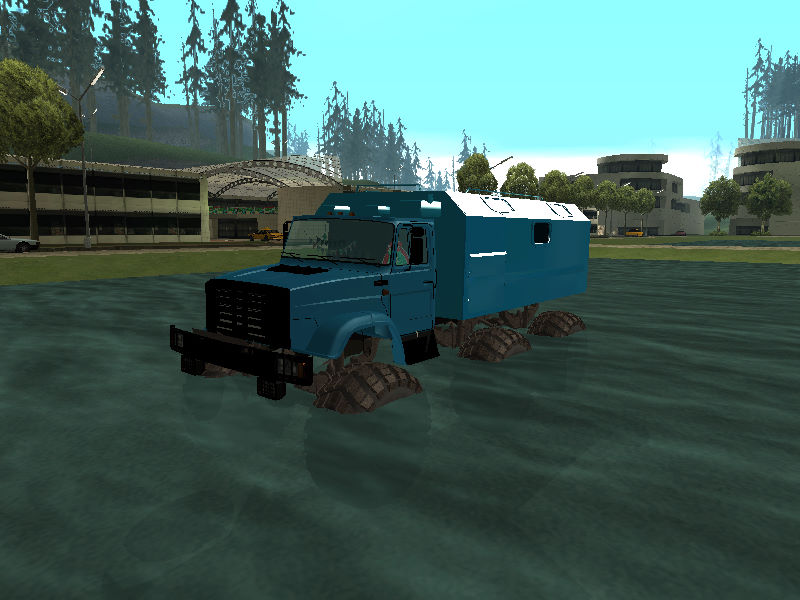 GTASA ロシアのトラック「ジル」18